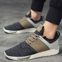 Breathable Patchwork Outdoor Men's Sneakers