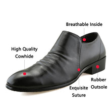 2018 New Men's Breathable Formal Shoes