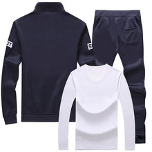 Polyester Letter England Brief Men's Tracksuit