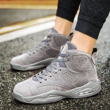 Air Mesh PU Bottom Breathable Ankle-High Men's Sneakers