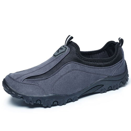 Relaxation Light Walking Round Head Men's Loafers