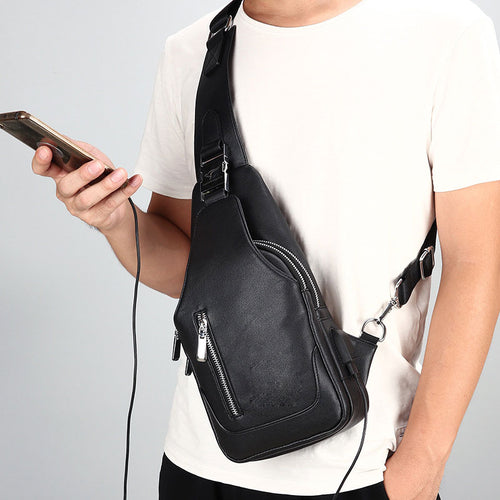 USB Waterproof Shoulder Bag
