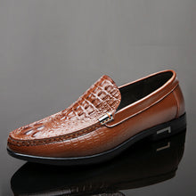 Croco Breathable Wear Resistant Men's Loafers