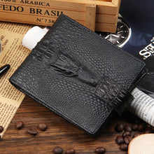 Fashion Alligator Genuine Leather Men Wallets