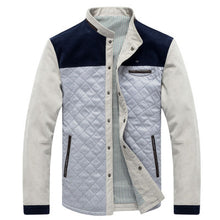 New Arrival Patchwork Slim Casual Hoodies Jacket