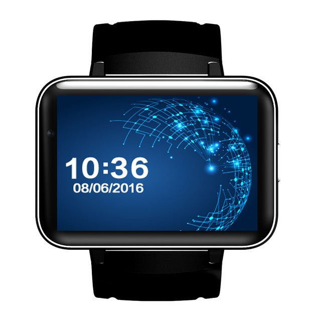 2.2 Inch Big Screen 4GB ROM Bluetooth GPS Smart Watch