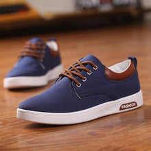 Fashion Summer Men Canvas Breathable Casual Shoes