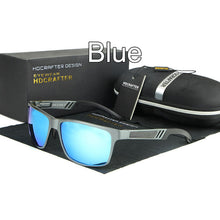 New Metal Frame Rectangle Goggle Driving Sunglasses