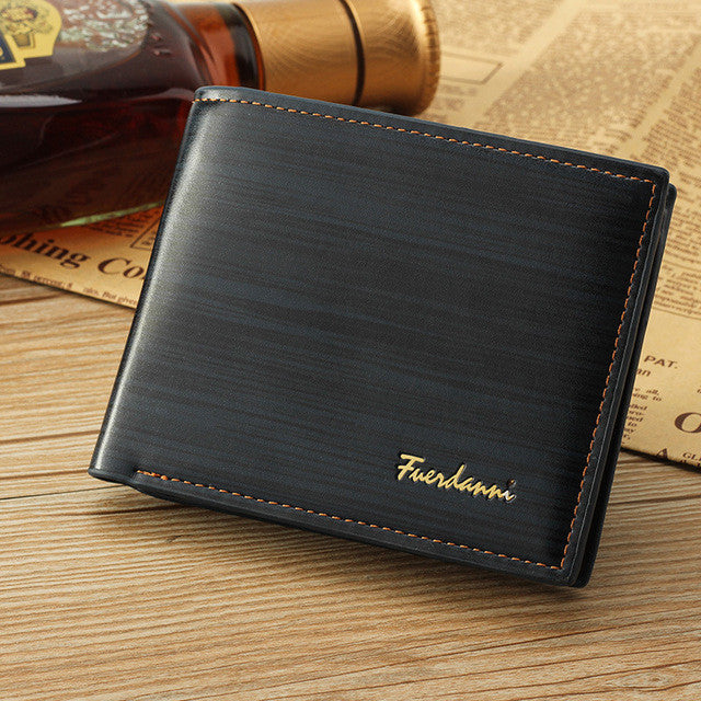 2018 Men Leather Brand Luxury Wallet