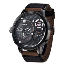 Brand Design Large Dial Military Quartz Waterproof Wristwatch