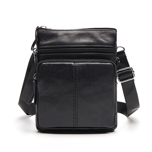 Men Genuine Leather Business Crossbody Bags