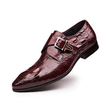 2018 New Men's Genuine Leather Business Oxford Shoes
