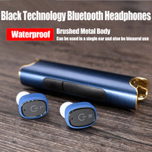 S2 New Waterproof Bluetooth Earphone With Magnetic Charging Box