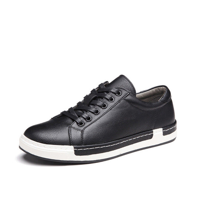 New Fashion Lace-up Retro Men Breathable Shoes
