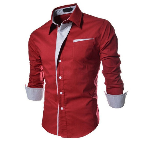Men'S Clothes Casual Shirts Long Sleeve Shirt