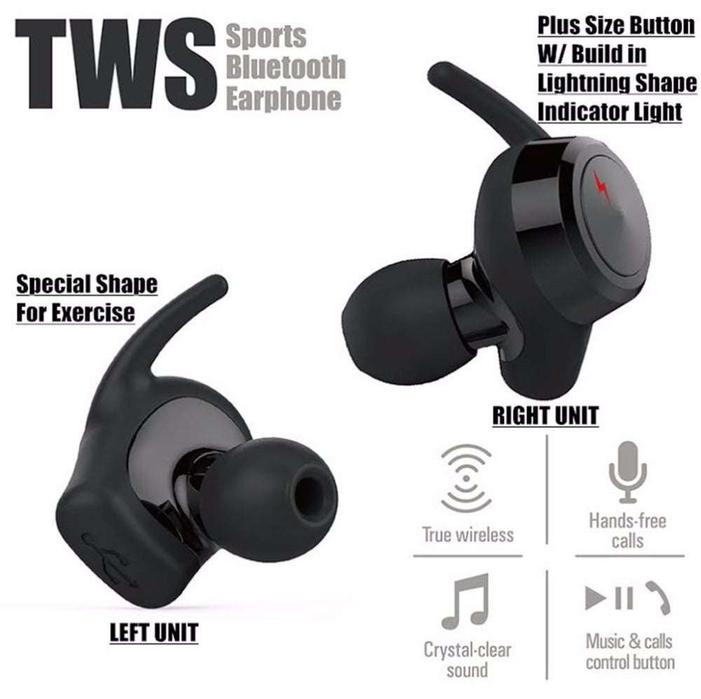 wireless mini bluetooth sport in ear earphone cutiemk. Black Bedroom Furniture Sets. Home Design Ideas