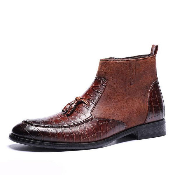 High Quality Handsome Comfortable Leather Boots