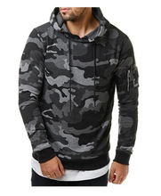 2018 New Men's Military Camouflage Hoodies Sweatshirts