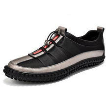 Spring Fashion Leather Men Casual Shoes