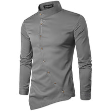 2018 New Fashion Men's Cotton Polyester Shirts