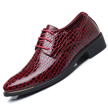 2018 New Men's Patent Leather Oxfords Dress Shoes