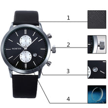 2018 Top Luxury Quartz Leather Sports Wristwatch
