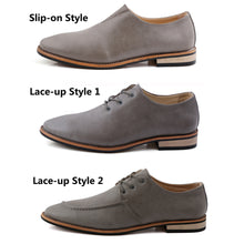New 2018 Men's Fashion Leather Oxford Shoes
