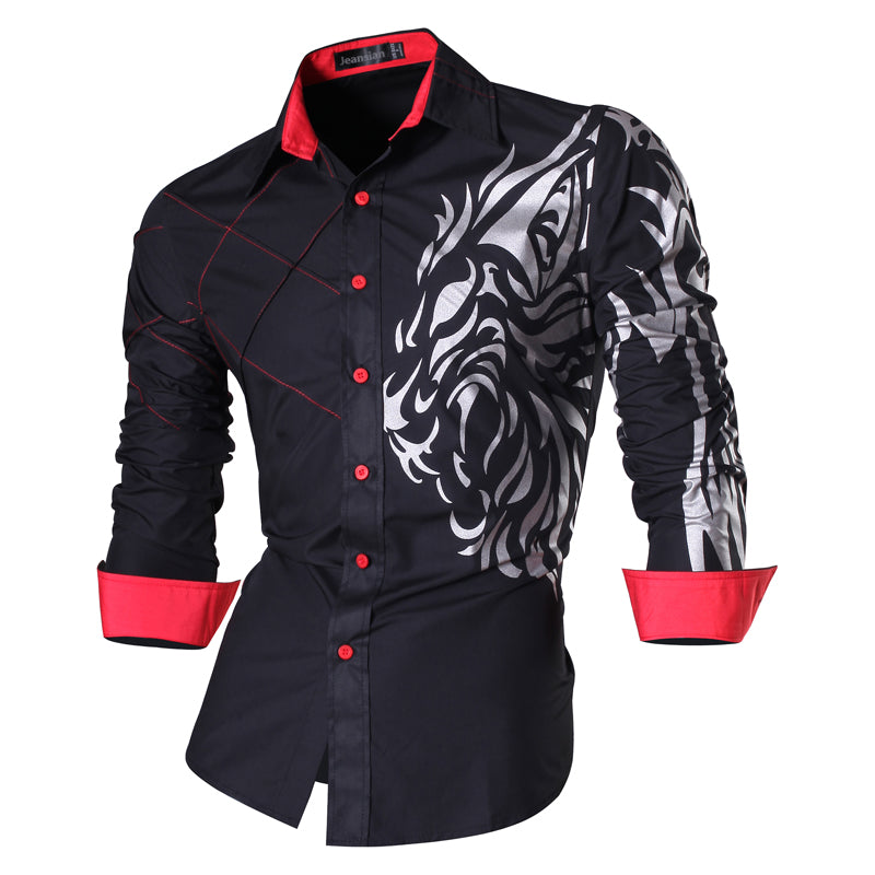2018 New Men's Casual Self-cultivation Shirt