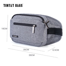 2018 Man's Casual Canvas Chest Bag