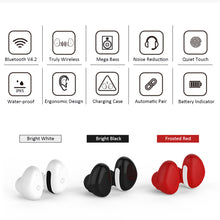 3D Stereo Wireless Earphones With Power Bank