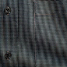 Primestitch Clothing & Apparel, Dark Grey Men's Button Down Shirt
