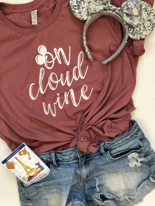On Cloud Wine Unisex Tee