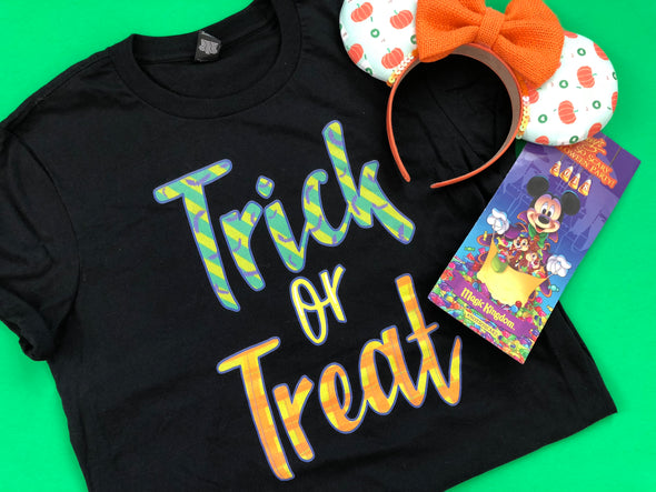MNSSHP: Trick or Treat Unisex Tee
