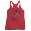 Pandora: Talk Na'vi To Me Women's Tank