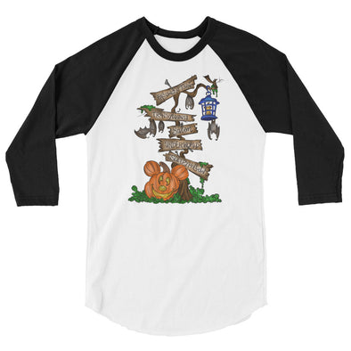 MNSSHP: Spooky Sign Baseball Tee