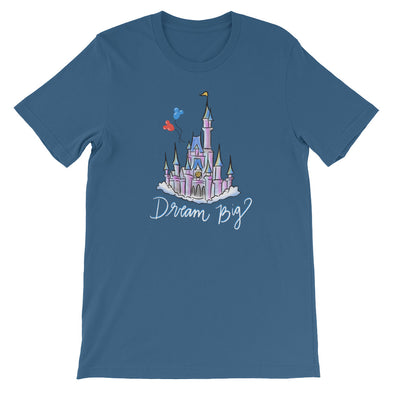 Dream Big WDW Front Only Unisex Tee