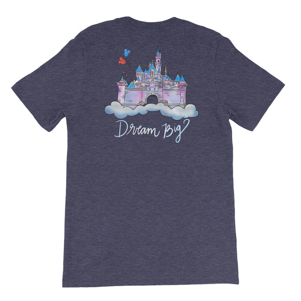 Dream Big DL Front/Back Unisex Tee