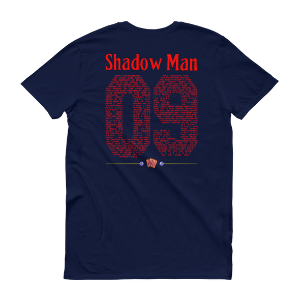 Shadow Man Jersey Unisex Tee
