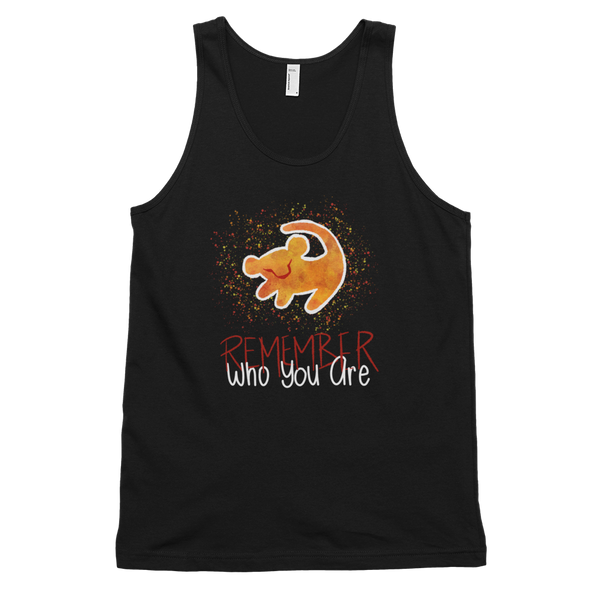 Lion King: Remember Who You Are Print Unisex Tank