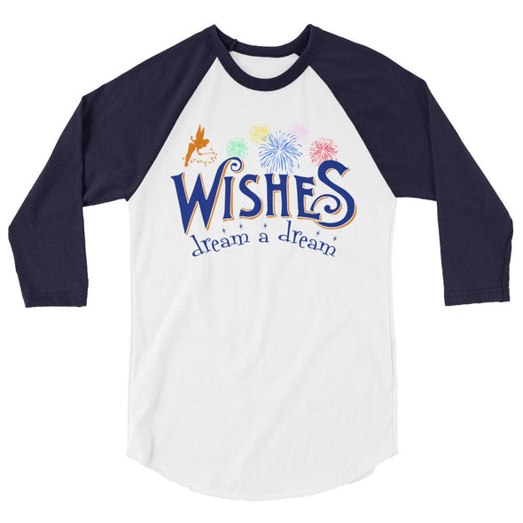 Wishes: Dream A Dream Unisex Baseball Tee