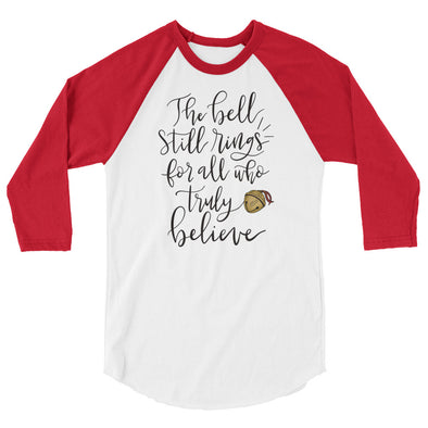 Polar Express Baseball Tee