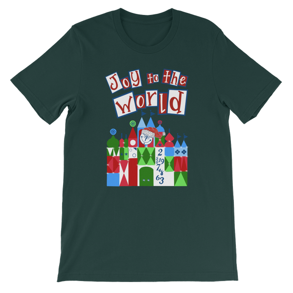 Joy To The Small World Unisex Tee