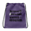 Haunted Mansion Drawstring Bag