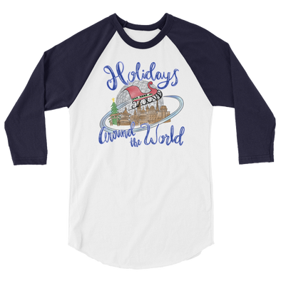 Holidays Around The World Unisex Baseball Tee