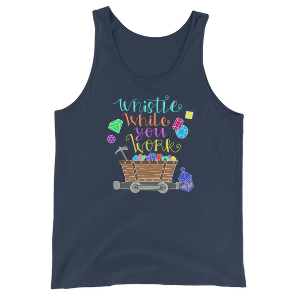 Whistle While You Work Unisex Tank
