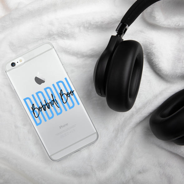 Bibbidi Bobbidi Boo Signature iPhone Case