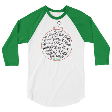 The Grinch Baseball Tee