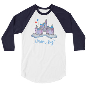 Dream Big DL Baseball Tee