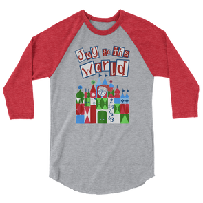 Joy To The Small World Unisex Baseball Tee