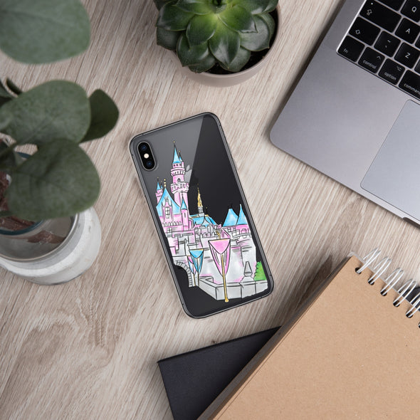 Disneyland Castle iPhone Case